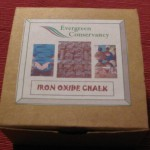 box of chalk
