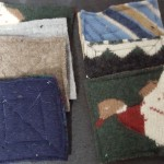 wool coasters